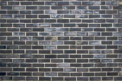 Mur des briques foncées Photo libre de droits
