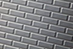 Mur des briques métalliques Photographie stock