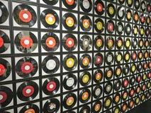 Mur des disques Images libres de droits