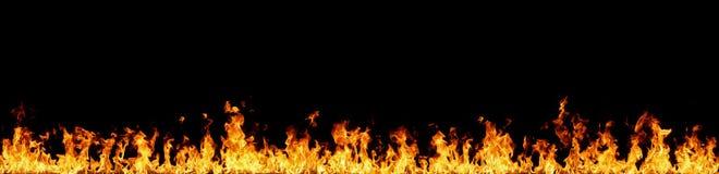 Mur des flammes images libres de droits