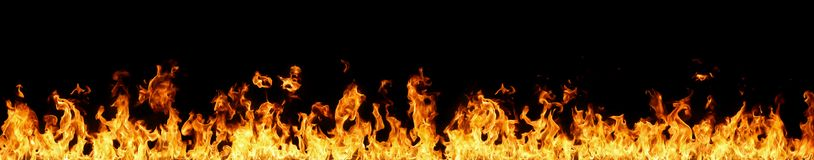 Mur des flammes photo stock