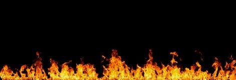 Mur des flammes image stock