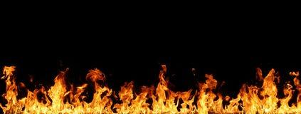 Mur des flammes photo libre de droits