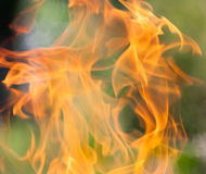 Mur des flammes photographie stock
