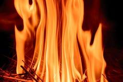 Mur des flammes images stock