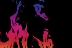 Mur des flammes photographie stock libre de droits