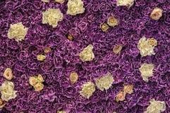 Mur des fleurs fraîches photo libre de droits