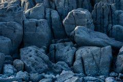 Mur des formations de roche de lave photos libres de droits