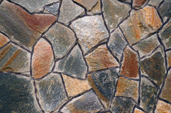 Mur des grandes pierres de granit Photos stock