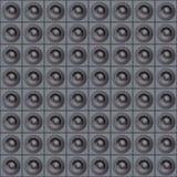 Mur des haut-parleurs Photographie stock