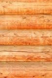 Mur des logs Disposition horizontale Plan rapproché photographie stock libre de droits
