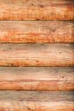 Mur des logs Disposition horizontale Plan rapproché images stock