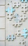 Mur des morceaux de puzzle Image stock