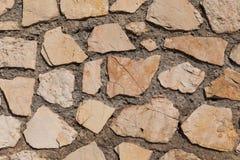 Mur des pierres comme texture images stock