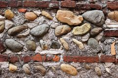 Mur des roches Images stock