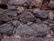 Mur des roches Image stock