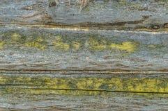 Mur des vieux, gris rondins Images stock