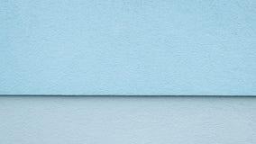 Mur divisé par bleu Photographie stock