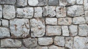 Mur du fond en pierre Photo libre de droits