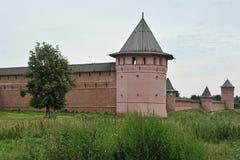 Mur du monastère photo libre de droits