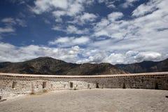 Mur du Potala Photo libre de droits