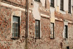 Mur du vieux bâtiment Images stock