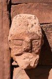 Mur du visage en pierre b de Tiahuanaco Photos stock
