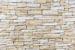 Mur effectué à partir des briques de grès Photographie stock