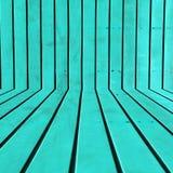Mur en acier azuré de pièce Photographie stock libre de droits