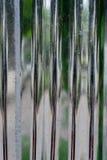 Mur en aluminium Photos libres de droits