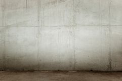 Mur en béton Photo stock
