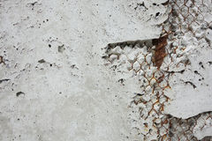 Mur en béton Photos libres de droits