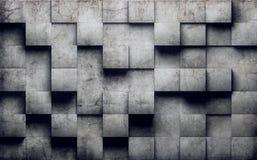 Mur en béton abstrait Image libre de droits