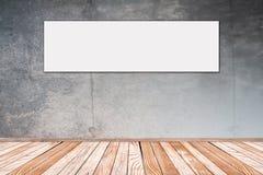 Mur en béton avec le panora de photo Photos libres de droits