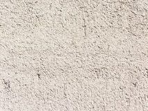 Mur en béton blanc Photo libre de droits