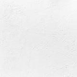 Mur en béton blanc avec le plâtre Texture de fond images stock