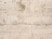 Mur en béton blanc de gravier Photographie stock