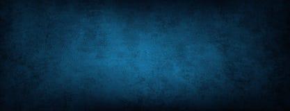 Mur en béton bleu Image stock