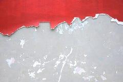 Mur en béton criqué Photo libre de droits