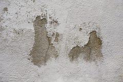 Mur en béton criqué Images stock