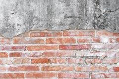 Mur en béton criqué couvert de surface grise de ciment comme backgr images stock