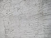 Mur en béton criqué et rayé Images stock