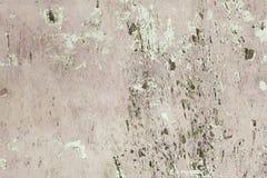 Mur en béton criqué grunge Photos libres de droits