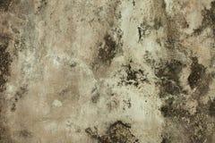 Mur en béton criqué grunge Photos stock
