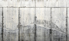 Mur en béton cru Photos libres de droits