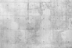 Mur en béton cru de Beton image libre de droits