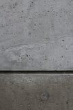 Mur en béton divisé Image stock