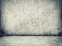 Mur en béton et plancher image libre de droits