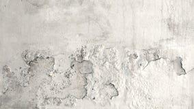 Mur en béton grunge de ciment avec la fente Image libre de droits