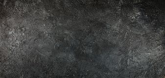 Mur en béton noir images libres de droits
